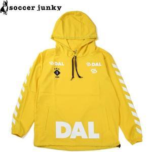 soccer junky サッカージャンキー アノラックピステパーカー CP19543-YEL サッカー フットサル|hiyamasp