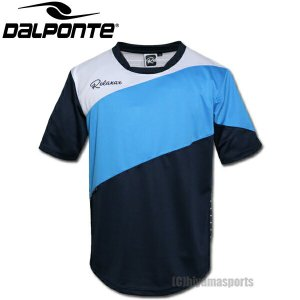 DalPonte ダウポンチ Relaxar リラクシャー ミックスボーダープラクティスシャツ プラシャツ DPZ-RXG005-NVY サッカー フットサル hiyamasp