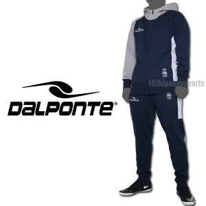 DalPonte ダウポンチ スウェットジップフードパーカー&スウェットテーパードパンツ DPZ0270-NVY-DPZ0272-NVY サッカー フットサル hiyamasp