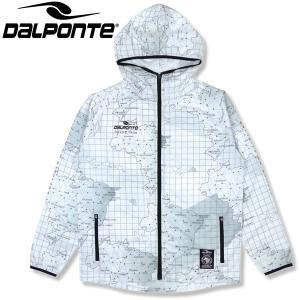 DalPonte ダウポンチ BR総柄アンセムジャケット ピステジャケット DPZ0323-WHT サッカー フットサル|hiyamasp
