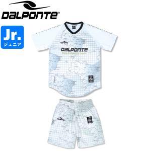 DalPonte ダウポンチ ジュニア BR総柄プラクティスシャツ&プラクティスパンツ プラシャツ プラパン DPZ0324J-WHT-DPZ0325J-WHT サッカー フットサル|hiyamasp