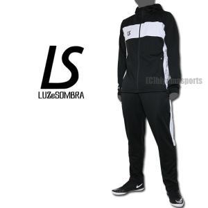 LUZeSOMBRA ルースイソンブラ ストリームライン トレーニングジャージセット STREAM LINE TRAINING JERSEY TOP BOTTOM SET F1811600-BLKBLK|hiyamasp