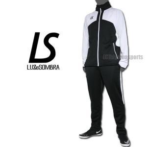 LUZeSOMBRA ルースイソンブラ トレーニングジャージセット VELOCITY TRAINING JERSEY TOP BOTTOM SET F1811602-BLKWHT サッカー フットサル|hiyamasp