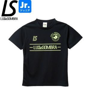 LUZeSOMBRA ルースイソンブラ ジュニア ラインピッチ プラシャツ LINE PITCH PRA-SHIRT F1821022-BLKNYE|hiyamasp