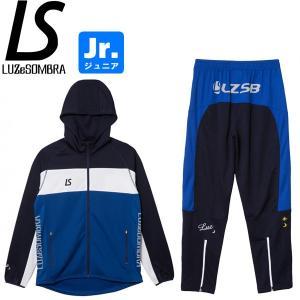 LUZeSOMBRA ルースイソンブラ ジュニア ストリームライン トレーニングジャージセット STREAM LINE TRAINING JERSEY TOP BOTTOM SET F1821601-BLUNVY|hiyamasp