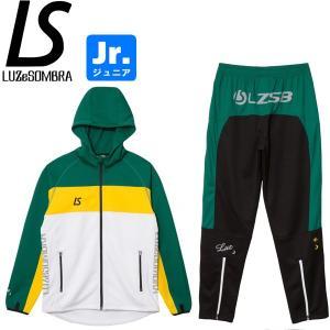 LUZeSOMBRA ルースイソンブラ ジュニア ストリームライン トレーニングジャージセット STREAM LINE TRAINING JERSEY TOP BOTTOM SET F1821601-WGN|hiyamasp