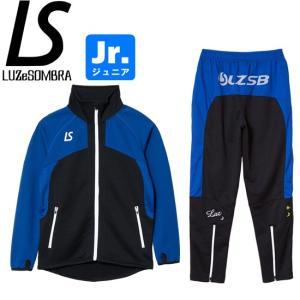 LUZeSOMBRA ルースイソンブラ ジュニア トレーニングジャージセット VELOCITY TRAINING JERSEY TOP BOTTOM SET F1821603-BLKBLU サッカー フットサル|hiyamasp