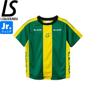 LUZeSOMBRA ルースイソンブラ ジュニア ストライプラインロゴパターン プラシャツ Jr STRIPE LINE LOGO PATTERN PRA-SHIRT F1921015-GRN サッカー フットサル|hiyamasp