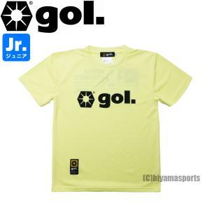gol.ゴル ジュニア プラクティスシャツ プラシャツ G192-809J-LYEL サッカー フットサル hiyamasp