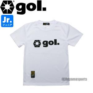 gol.ゴル ジュニア プラクティスシャツ プラシャツ G192-809J-WHT サッカー フットサル hiyamasp