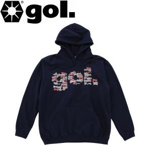 gol. ゴル スウェットパーカー G994-743-NVY サッカー フットサル|hiyamasp