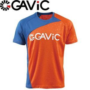 GAViC ガビック プラクティスシャツ 半袖プラシャツ GA8079-ORG サッカー フットサル|hiyamasp