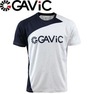 GAViC ガビック プラクティスシャツ 半袖プラシャツ GA8079-WHT サッカー フットサル|hiyamasp