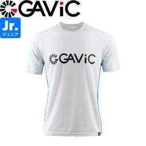 GAViC ガビック ジュニア プラクティスシャツ 半袖プラシャツ GA8577-WHTBLU サッカー フットサル|hiyamasp