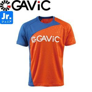 GAViC ガビック ジュニア プラクティスシャツ 半袖プラシャツ GA8579-ORG サッカー フットサル|hiyamasp