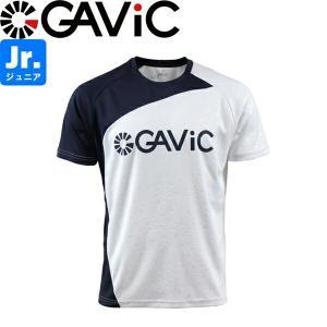 GAViC ガビック ジュニア プラクティスシャツ 半袖プラシャツ GA8579-WHT サッカー フットサル|hiyamasp