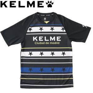 KELME ケレメ プラクティスシャツ プラシャツ ケルメ KC18F189-BLK サッカー フットサル|hiyamasp