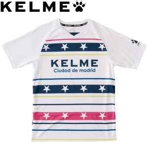 KELME ケレメ プラクティスシャツ プラシャツ ケルメ KC18F189-WHT サッカー フットサル|hiyamasp