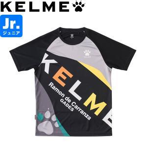 KELME ケレメ ジュニア プラクティスシャツ プラシャツ ケルメ KC19S102J-BLK サッカー フットサル|hiyamasp