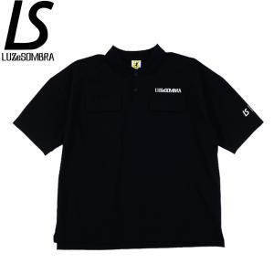 LUZeSOMBRA ルースイソンブラ TWM ビックシルエットユーティリティ ポロシャツ L1211200-BLK サッカー フットサル|hiyamasp