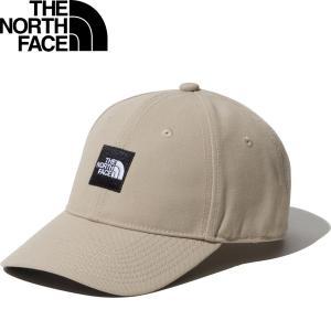 THE NORTH FACE ザ・ノースフェイス スクエアロゴキャップ Square Logo Cap NN41911-WG ゴールドウィン国内正規ライセンス商品|hiyamasp
