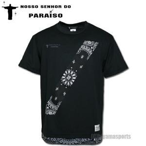NOSSO SENHOR DO PARAISO ノッソ セニョールドパライーゾ ペイズリーゲームシャツ NP-00-521-BLK サッカー フットサル|hiyamasp