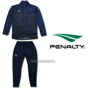 PENALTY ペナルティ ジャージ上下 トレーニングジャケット&トレーニングスリムロングパンツ PO0413-NVY-PO0414-NVY サッカー フットサル|hiyamasp