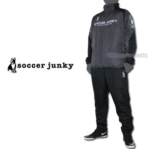 soccer junky サッカージャンキー パデットジャケット&パデットパンツ 中綿ウォーマー SJ19555-CBN-SJ19556-BLK サッカー フットサル|hiyamasp
