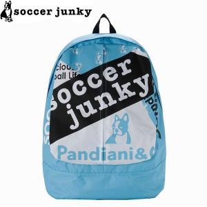 soccer junky サッカージャンキー バックパック Individuality+3 SJ21060-SBL サッカー フットサル|hiyamasp