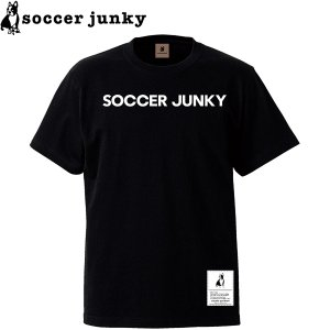 soccer junky サッカージャンキー 半袖Tシャツ BigDog+1 SJ21118-BLK サッカー フットサル|hiyamasp