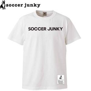 soccer junky サッカージャンキー 半袖Tシャツ BigDog+1 SJ21118-WHT サッカー フットサル|hiyamasp