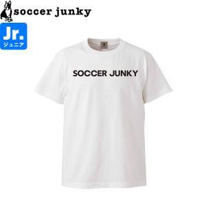 soccer junky サッカージャンキー ジュニア半袖Tシャツ Soccer Junkyα SJ21120K-WHT サッカー フットサル|hiyamasp