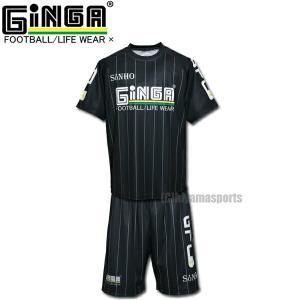 GiNGA ジンガ SHNHOソーニョ ゲームシャツ&ゲームパンツ SN00003-SN00004 サッカー フットサル hiyamasp
