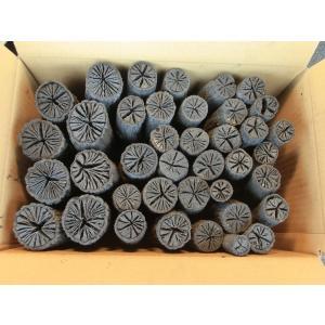 茶道 道具炭 大分椚炭(くぬぎ炭)丸切炭7.5cm(大中小)5kg 自社製