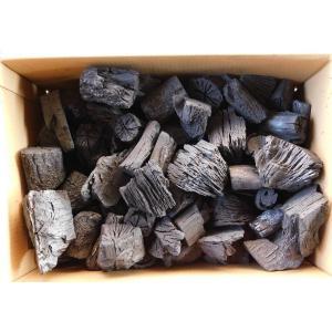 木炭 炭 大分の椚(くぬぎ)荒炭(5-10cm)3kg箱入り 大分県産 最高級