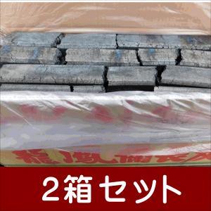 備長炭 オガ炭 インドネシア産 龍鳳備長炭SC 10〜20cm10kg2箱セット