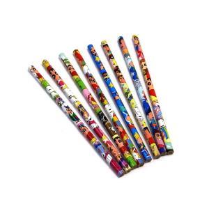 クレヨンしんちゃん キュート 鉛筆セット 1パック4本入り×8種類柄=32本 文房具|hiyoshiya