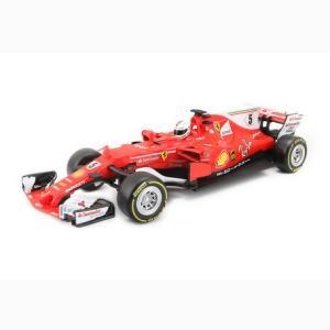 bburago ブラーゴ 1:43 フェラーリ ferrari F-1 F1 SF17-H レッド #5ベッテル エフワン ミニカー|hiyoshiya