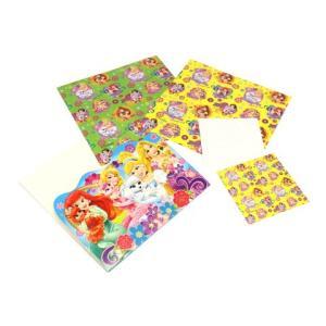 ディズニープリンセス折紙 1パック大8枚小8枚セット 6種類柄1セット おりがみ折り紙