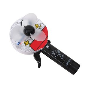 手動式ミストファン スヌーピー 手動扇風機 エコファン A柄3216|hiyoshiya