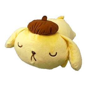 ポムポムプリン BIG 寝そべり ぬいぐるみ ビッグ 大きい フィギュア グッズ サンリオ クッショ...
