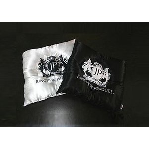 ジャンクションプロデュース【09ZAB-0002】コンフォートクッションサテン ブラック/ホワイト|hkbsports