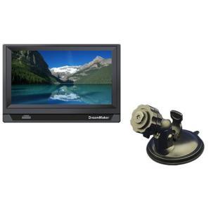 7インチ液晶モニター+フロントスタンド【DM-MT070W02L】|hkbsports