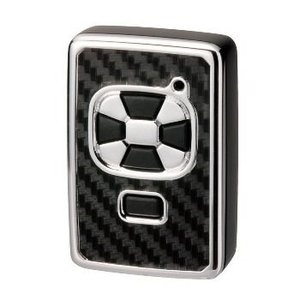 カーアクセサリー リモコンキーカバートヨタAタイプ カーボン調 ブラック【DZ191】 hkbsports