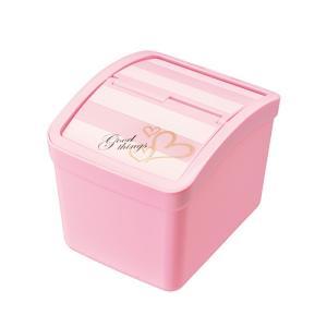 CARMATE(カーメイト)【DZ296】おもり付ゴミ箱 S フタ付 FOR GIRLS ピンク|hkbsports