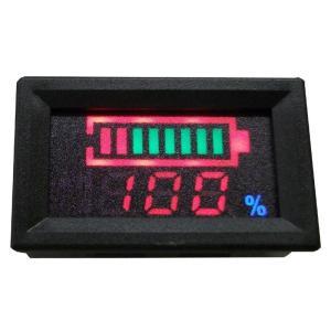 代引不可 オプティマ バッテリー電圧/残量計【GTP-096】