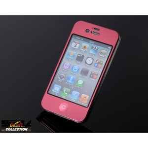 iPhone4/4S 用 超軽量ツインカバーセット ピンク PAT.P【代引不可】|hkbsports