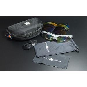 ジャンクションプロデュース【jps-2】スポーツサングラス 偏光グラスケース付き 全4色から選択|hkbsports