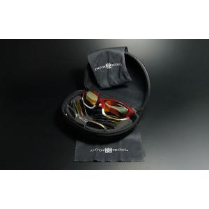 ジャンクションプロデュース【jps-7】スポーツサングラス 2眼フルリムタイプ偏光グラス ケース付き 全5色から選択|hkbsports