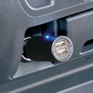 iPad対応2口USBソケット  【ME103】カーメイト|hkbsports